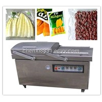 TK-V400 HOTSALE DOUBLE ROOM VACUUM PACKAGING MACHINE FOR VEGETABLE/FRUIT PACKING IN CHINA