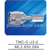 TNC male connector ,crimp,TNC-C-J3-2