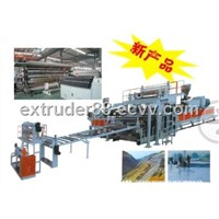 TPE/LDPE/HDPE waerproofing sheet/board plastic machinery