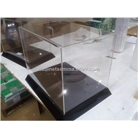 Table Top Clear Acrylic Case Lucite Display Stand Box
