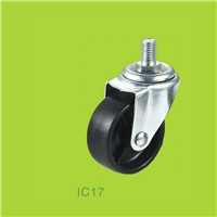 Threaded stem industrial casters without brake
