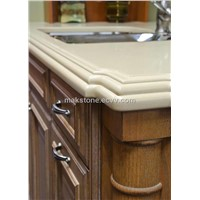 Top Quality Solid Surface Kitchen Countertop and Island Top