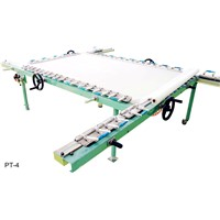 Turbine Screen Stretching Machine - Stretch Printing Mesh Frame - Aluminium Alloy - QA