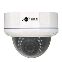 Vandal-proof IR Dome CCTV Camera with Sony 700TVL Chipset