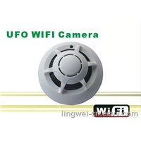 WIFI IP Smoke Detector Camera