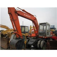 Used Wheel Excavator Hitachi EX100WD-1