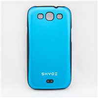 X1050) Plastic & Metal Combine Protective Case(Back cover) for Samsung Galaxy S3