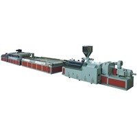YF series wood plastic door board extrusion line