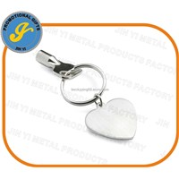 Zinc Alloy Metal Keychain with Customized Logo