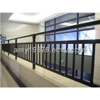 Zinc Steel Fence, Made of Square Hot-dip Galvanized Steel Pipe