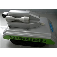 air duct disinfection robot/machine