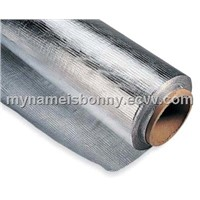 aluminum foil glassfiber cloth lamination vapor barrier and radiant barrier