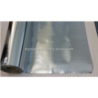 aluminum foil woven lamination vapor barrier and radiant barrier