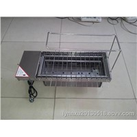 automatic  rotary charcoal bbq machine