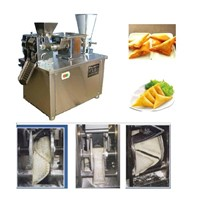 automatic samosa making machine , chinese dumpling making machine, spring roll making machine