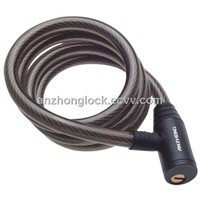 bicycle spiral cable lock