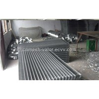 Black Wire Welded Mesh Panel