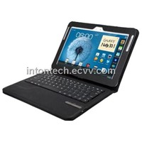 "bluetooth keyboard with leather case for galaxy NOTE 10.1"" (KRXKB18)"