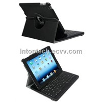 bluetooth keyboard with leather case for the new Ipad/Ipad2 (KRXKB06)