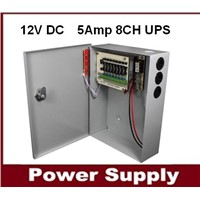 cctv ups,12V DC 5Amp 8channel CCTV Uninterruptible Power Supply(SIHD1205-08CB )