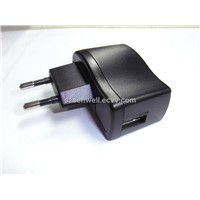Cheap USB Travel Charger for Mobile Phone and MP3