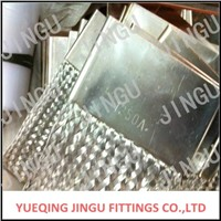 copper braid flexible connector China factory JINGU