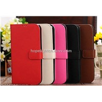 Cross Pattern PU Leather Cover for Samsung Galaxy S4/i9500