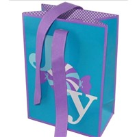 customized printing paper gift bag supplier in China