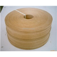 edge banding wrapping materal finger joint natural veneer reconstituted wood veneer