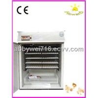 full automatic CE marked hot used egg incubator for 880 eggs