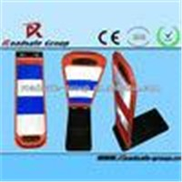 good quality rubber base Traffic safety Waring board