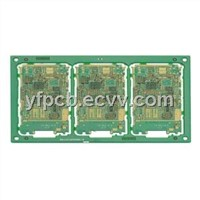 Green Soldermask White Silkscreen USB PCB Board