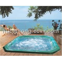 high quality acrylic outdoor massage spa hot tub bathtub