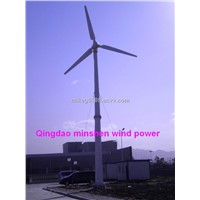 horizontal axis wind turbine 10KW with air pitch