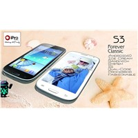 iPro Android smart phone S3 pro WIFI+GPS+DUAL CORE