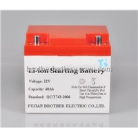 lithium ion starting battery for car,e-bicycle, e-scooter