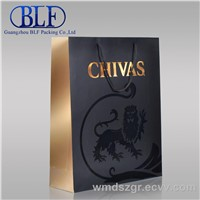 luxury paper bag for wine(BLF-PB002)