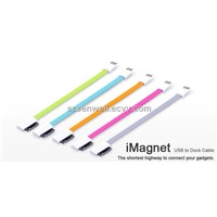 Magnet Data Cable Charging from USB to 30 Pins for iPhone 4 4s
