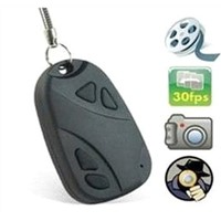 mini hidden car key camera 808 with 720*480 30fps