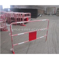 Movable Traffic Barrier Fence with Reflective Tape