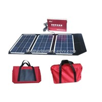 Portable Battery with Solar Power Panel and 5v Voltage