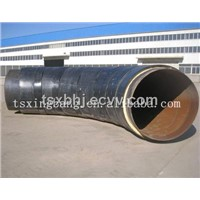 pre-insulated pipe fitting elbow