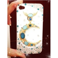 (ten mobile phone shell as a pack of) the moon protect shell for iphone 4/4 s following
