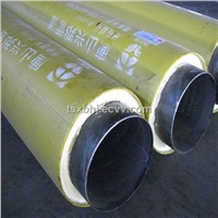 underground insulating pipeline for oil and gas transportation