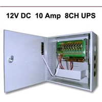 uninterruptible power supply,DC12V 10amp 8channel cctv backup power supply(SIHD1210-08CBR)