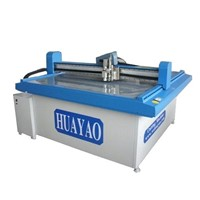 v groove grey paper cutting machine