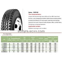 all steel radial tire DSR 168