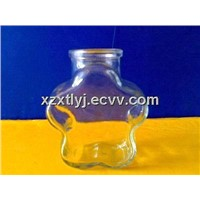 glass bottles, glass jars, glass candle holders, glass candle cups, glasses