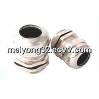 metal plated nickel cable waterproof gland  ( PG,Metric,NPT,G thread )