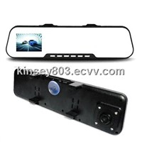 rear view mirror with DVR